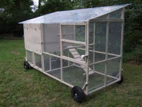 Portable Chicken Coops PVC Pipe