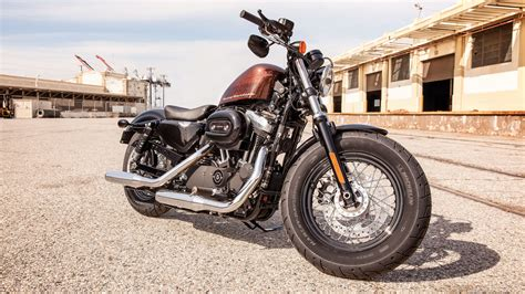 Harley Davidson Forty Eight 4k Wallpapers by мотоциклы Harley Davidson Sportster обои для рабочего
