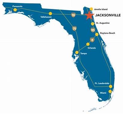 Jacksonville Florida Map Fl Mayport Travel Area