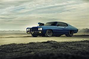 Chevrolet Chevelle Ss 1970 Supercharger Blue Dragster ...