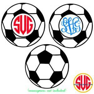 Monogram Soccer Ball Frame