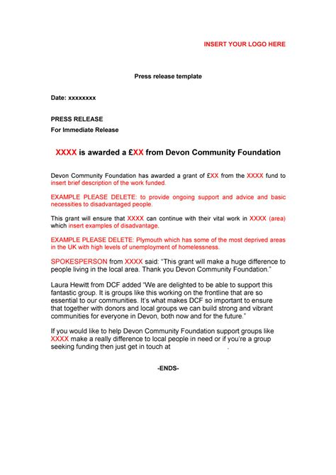 press release cover letter examples press release cover letter example docoments ojazlink
