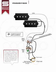 Seymour Duncan Vs Fender Wiring P