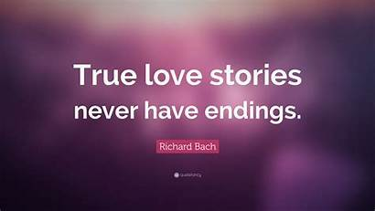 True Wallpapers Quote Quotefancy Stories Bach Richard