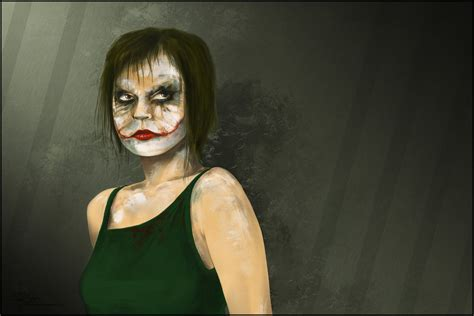 Joker Girl By Prokhoda On Deviantart