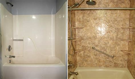 Replacement Bathroom Tiles by Just A Bathroom Tub Replacement Rethinkredesign