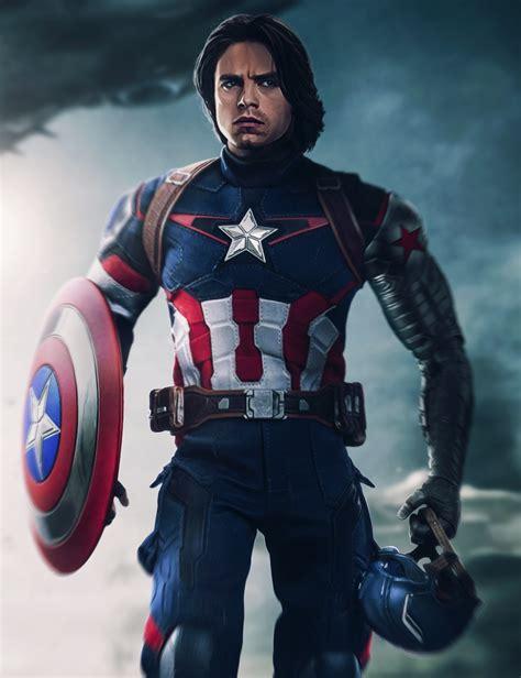 bucky barnes captain america bucky captain america by ehnony on deviantart