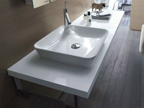 vasque 224 poser en c 233 ramique starck 1 vasque 224 poser collection starck 1 by duravit design