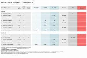 Prix 308 Peugeot : prix peugeot 308 restyl e tous les tarifs et quipements de la 308 photo 5 l 39 argus ~ Gottalentnigeria.com Avis de Voitures
