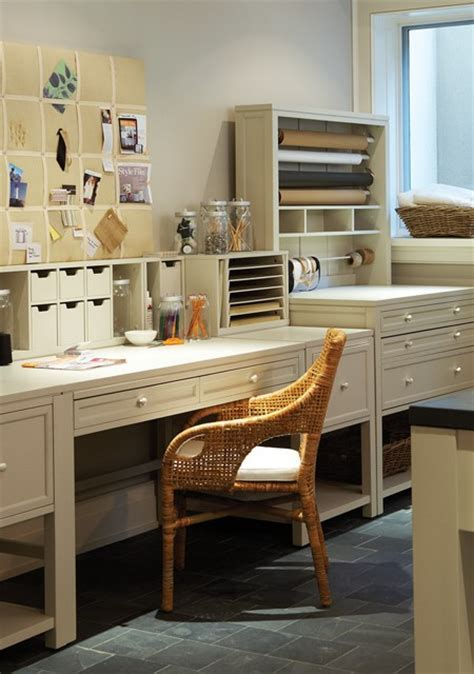 Craft Room Laundry Room Transitional laundry room Martha Stewart Sharkey Gray House & Home