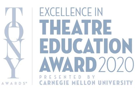 excellence theatre education award tony awards