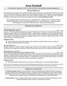 resume samples forklift driver resume With forklift operator resume