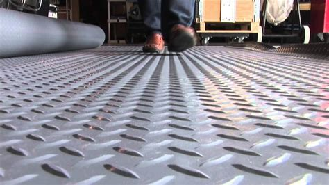 Better Life Technologies Rollout Garage Flooring   YouTube