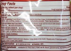 Image Gallery halls cough drops ingredients
