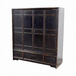 77 off ethan allen ethan allen wood media cabinet storage With kitchen cabinets lowes with ethan allen wall art