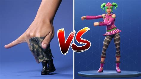 fortnite dance challenge fingers breakdance youtube