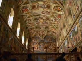 Qui A Peint La Fresque De La Chapelle Sixtine by Quizz La Chapelle Sixtine Quiz Culture G 233 N 233 Rale
