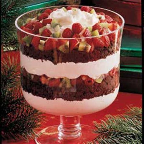 chocolate  fruit trifle recipe taste  home