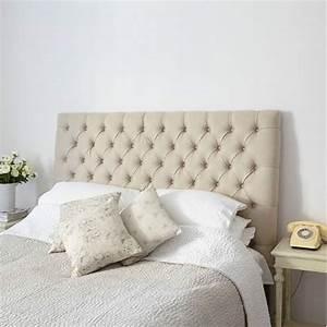 Tete De Lit Lin : t te de lit capitonn lin vatican l 160 180 cm chambre villa demeure ~ Melissatoandfro.com Idées de Décoration