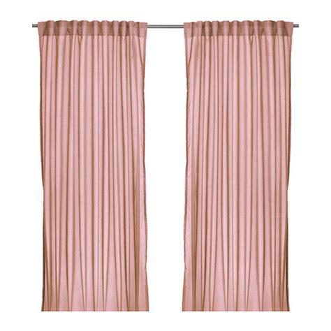 ikea vivan curtains australia ikea vivan curtains drapes pink 2 panels pale shell blush
