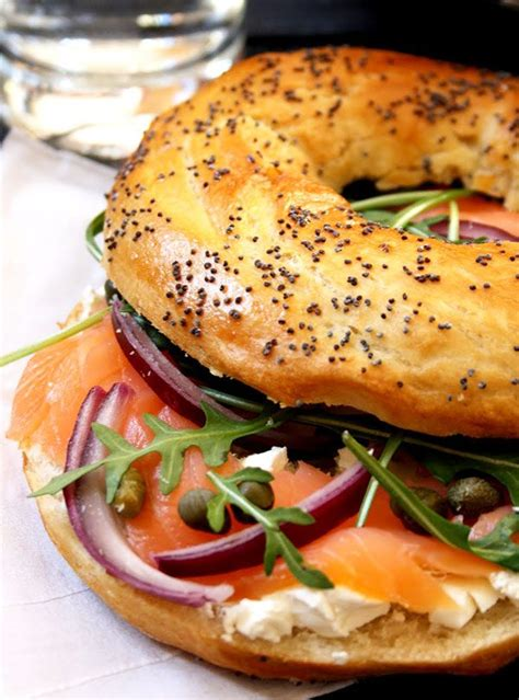 smoked salmon bagel recipe eatwell
