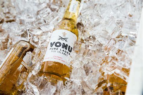 socially conscious fijian beer brand vonu  arrived