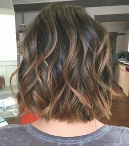 Balayage Cheveux Bouclés : m ches ou balayage sur cheveux courts ~ Dallasstarsshop.com Idées de Décoration