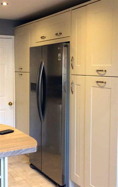 Kitchen Wine Rack Ideas - how do i box in an american fridge freezer diy kitchens advice