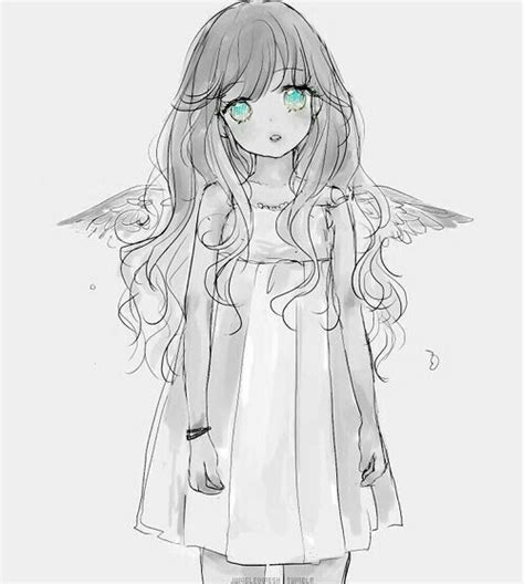 manga girl sad ideas  pinterest manga art