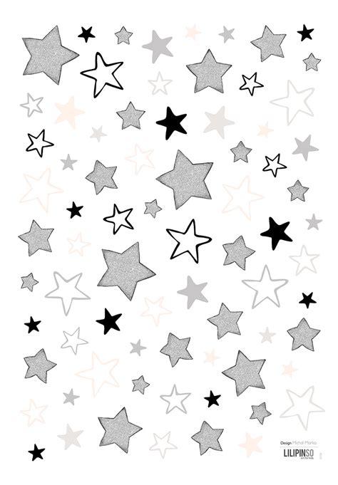 Wandtattoo Kinderzimmer Sterne by Lilipinso Kinderzimmer Wandtattoo Sterne Schwarz Grau