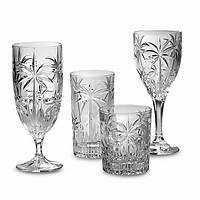 godinger shannon crystal Godinger Dublin Crystal Shannon South Beach Palm Stemware ...