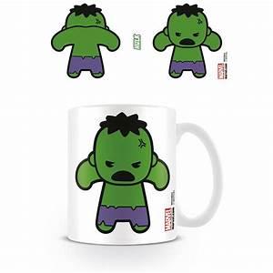 HULK KAWAII MUG CERAMIC CUP TEA COFFEE MARVEL CUTE ...