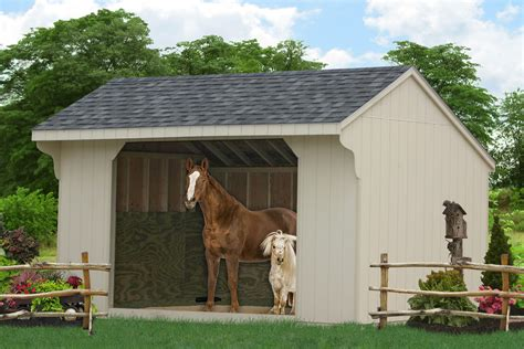 valley and delaware sheds and barns buy run in sheds and barns for equine
