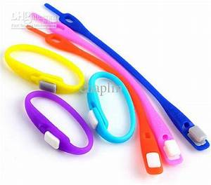 2018 600packs=Wholesale Uni Neon Clip Snap Silicone