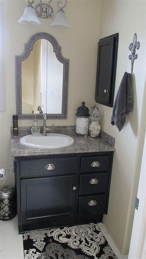 vanity ideas for small bathrooms best 25 black bathroom vanities ideas on