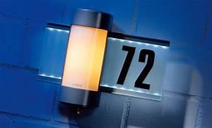 Außenleuchte Mit Hausnummer : au en wandlampe ~ Buech-reservation.com Haus und Dekorationen