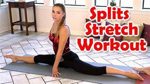 12 Minute Splits Stretch Flexibility Workout For Beginners