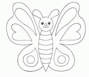 Schmetterling, Malvorlagen