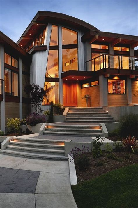 Modern Home And Walkway Pictures, Photos, and Images for ...