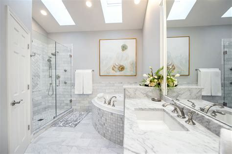 luxurious master bathroom remodel linly designs