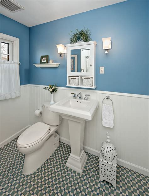 white and blue wall interior color decor with white wall
