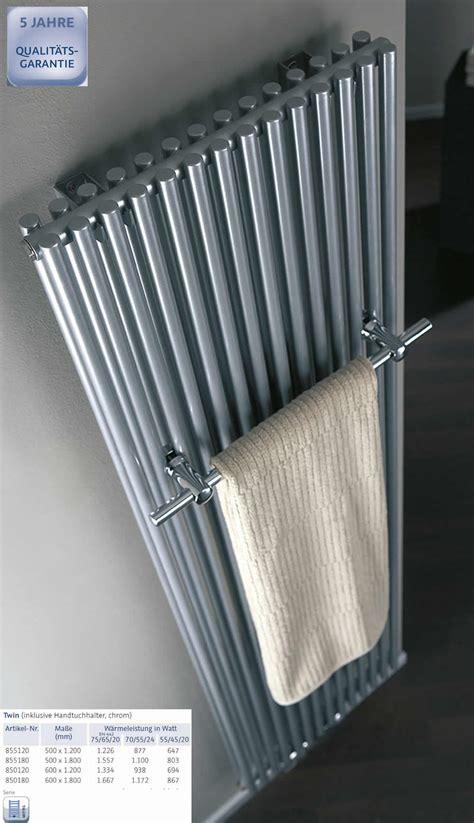 heizkörper mit handtuchhalter hsk heizk 246 rper mit handtuchhalter 500 x 1800 mm silber impulsbad