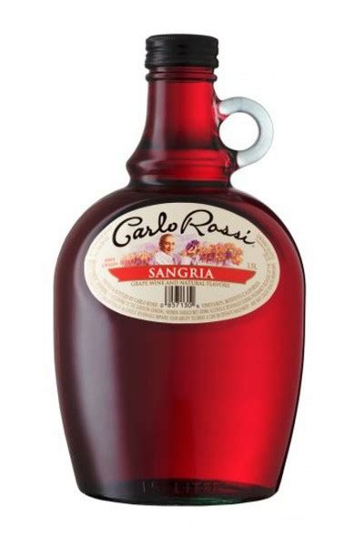 Carlo Rossi Sangria  Buy Moscato Online Drizly