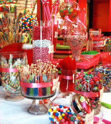 decoration bar anniversaire bar 224 bonbons anniversaire bonbon th 232 me bonbons et bar