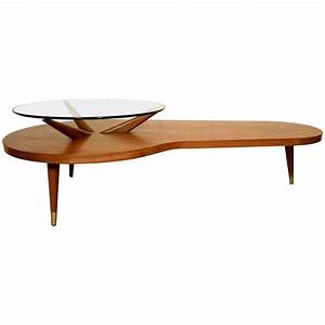 elegant mid century modern two tier coffee table for sale With mid century two tier coffee table