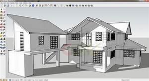 google sketchup ma maison constructeur With plan maison google sketchup