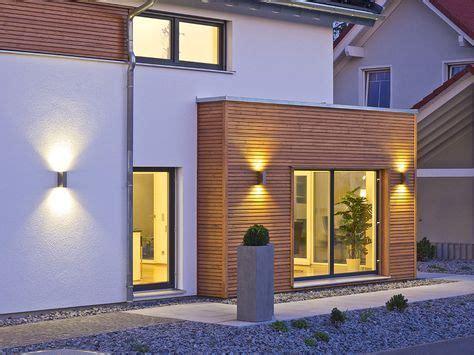 Den Hauseingang Ins Rechte Licht Ruecken by Haus Future Au 223 Enansicht Mit Beleuchtung Fertighaus