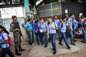 Gang wars mean school can be a battleground in Honduras ...