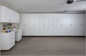 Image Of Garage Wall Cabinets : How to Make Homemade