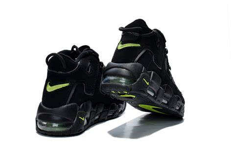 Womens Nike Air More Uptempo Gs Black-volt Girls Size For Sale